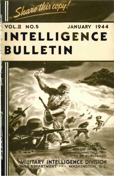 United States. War Department - 1944-01 Intelligence Bulletin Vol 02 No 05