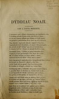 Dyddiau Noah (1850)