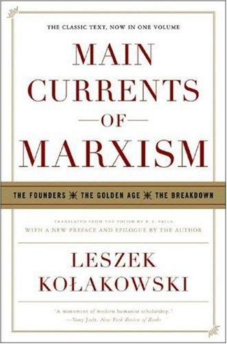 Download Main Currents of Marxism