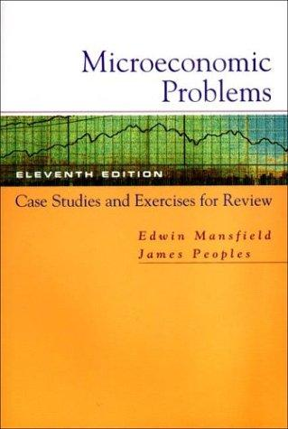 Download Microeconomic problems