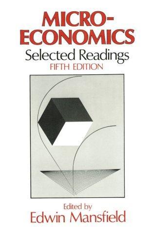 Microeconomics, Selected Readings