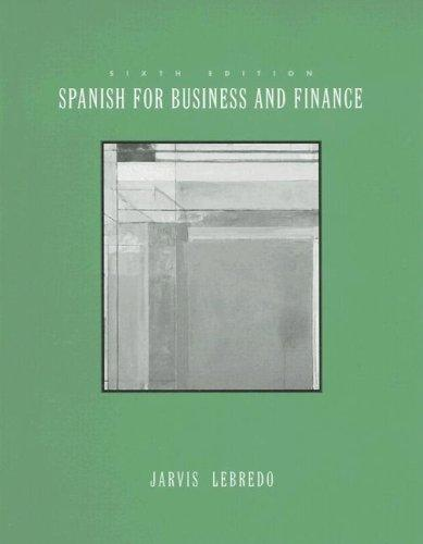 Download Spanish for business and finance
