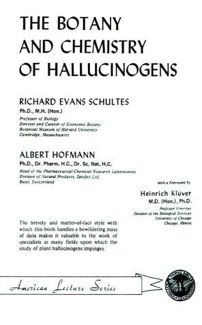 Download The botany and chemistry of hallucinogens