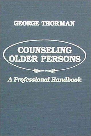 Download Counseling older persons