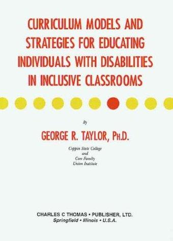 Curriculum strategies for teaching social skills to the disabled