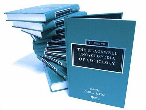 Download The Blackwell Encyclopedia of Sociology