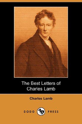 Download The Best Letters of Charles Lamb (Dodo Press)