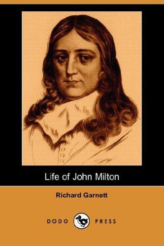 Download Life of John Milton (Dodo Press)