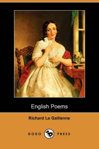 Download English Poems (Dodo Press)