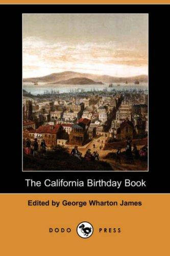 Download The California Birthday Book (Dodo Press)