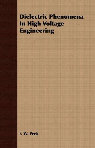 Download Dielectric Phenomena In High Voltage Engineering