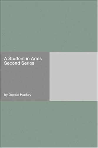 A Student in Arms Second Series