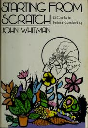Cover of: Starting from scratch | John Whitman
