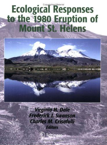 Ecological responses to the 1980 eruption of Mount St. Helens by